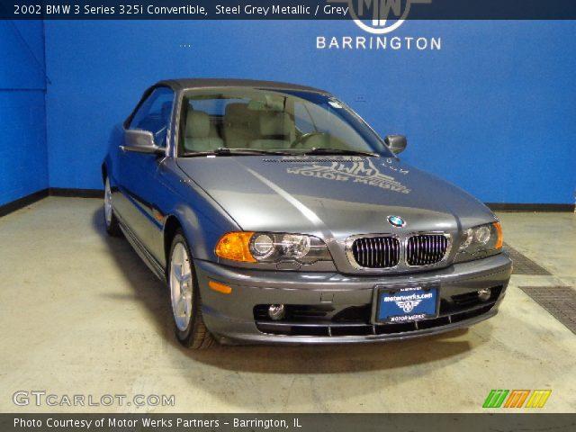 2002 BMW 3 Series 325i Convertible in Steel Grey Metallic