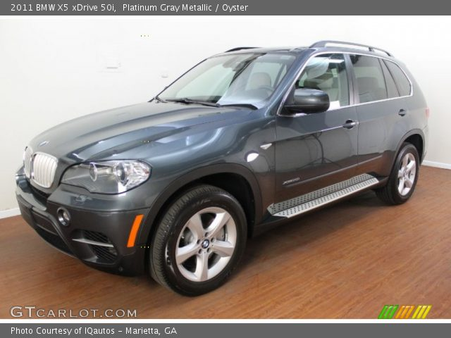 platinum gray metallic 2011 bmw x5 xdrive 50i oyster. Black Bedroom Furniture Sets. Home Design Ideas