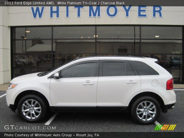 white platinum tri coat 2011 ford edge limited awd. Black Bedroom Furniture Sets. Home Design Ideas