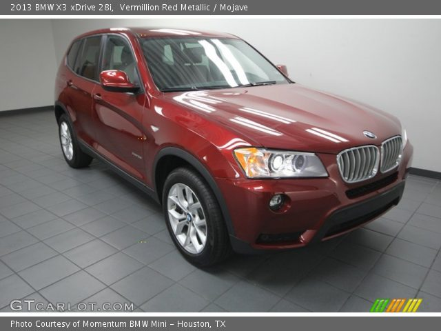 2013 BMW X3 XDrive 28i In Vermillion Red Metallic