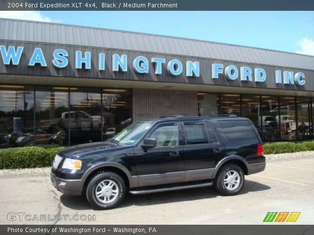 black 2004 ford expedition xlt 4x4 medium parchment. Black Bedroom Furniture Sets. Home Design Ideas