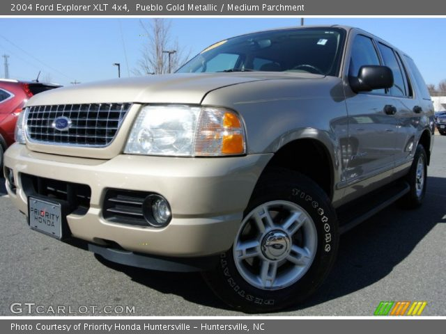 Pueblo Gold Metallic - 2004 Ford Explorer Xlt 4x4