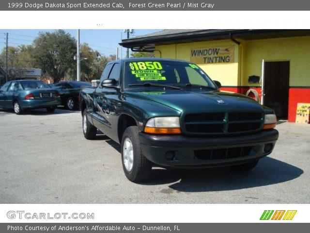 on Green 1997 Dodge Dakota