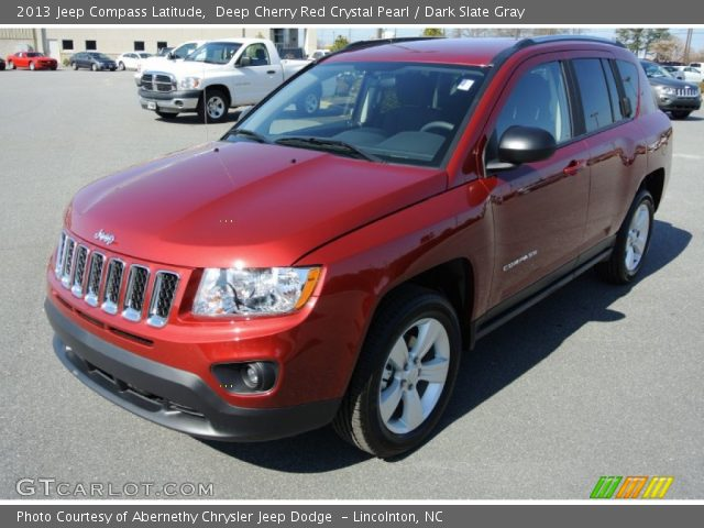 deep cherry red crystal pearl 2013 jeep compass latitude. Black Bedroom Furniture Sets. Home Design Ideas