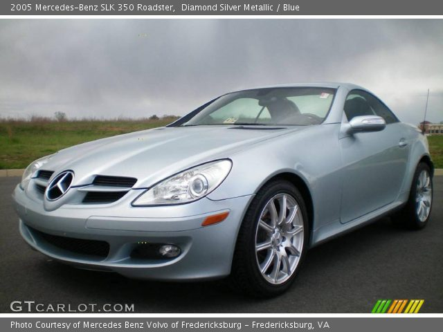 diamond silver metallic 2005 mercedes benz slk 350. Black Bedroom Furniture Sets. Home Design Ideas