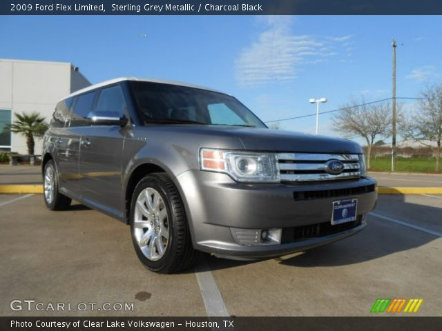 sterling grey metallic 2009 ford flex limited charcoal. Black Bedroom Furniture Sets. Home Design Ideas
