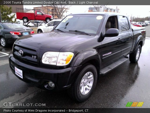 black 2006 toyota tundra limited double cab 4x4 light charcoal interior. Black Bedroom Furniture Sets. Home Design Ideas