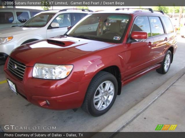 garnet red pearl 2006 subaru forester 2 5 xt limited. Black Bedroom Furniture Sets. Home Design Ideas
