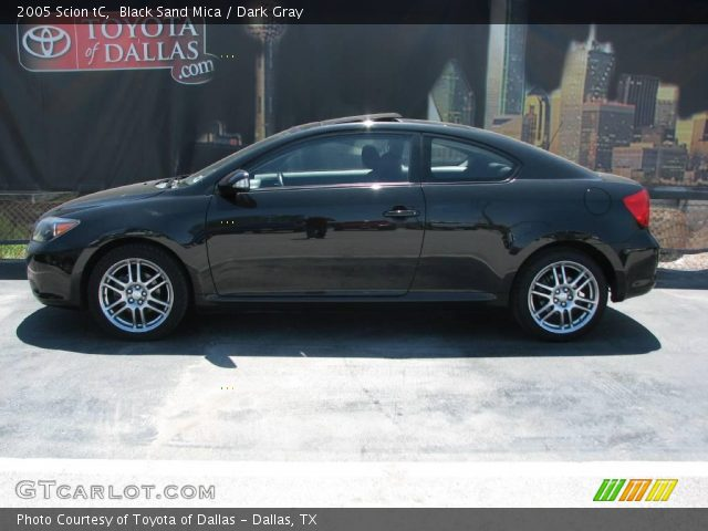 2005 Scion Tc Interior. Black Sand Mica 2005 Scion tC