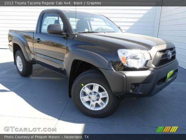 black 2013 toyota tacoma regular cab 4x4 graphite interior vehicle archive. Black Bedroom Furniture Sets. Home Design Ideas