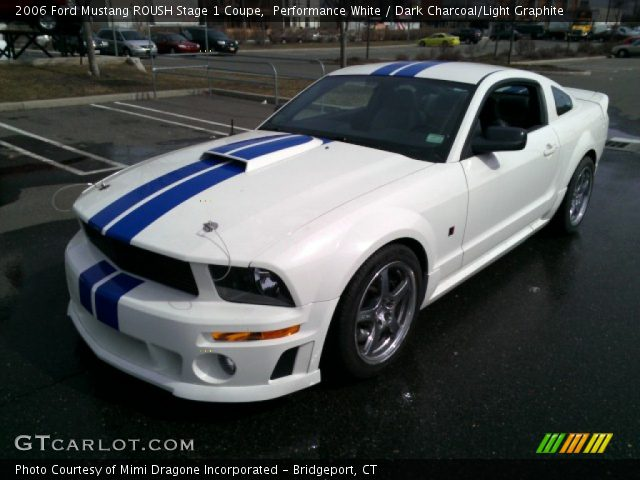 performance white 2006 ford mustang roush stage 1 coupe. Black Bedroom Furniture Sets. Home Design Ideas