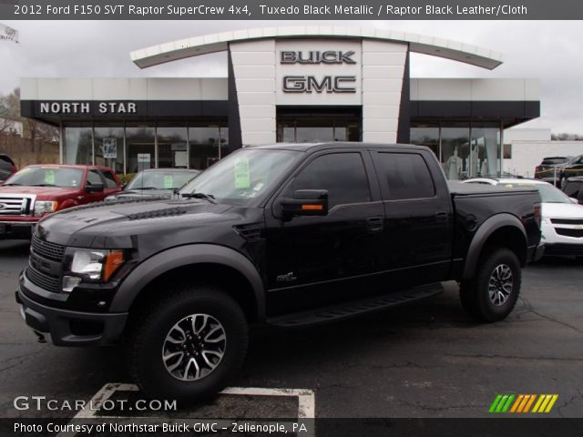 2012 ford f150 svt raptor supercrew 4x4 in tuxedo black metallic - Ford F150 Raptor Black Interior