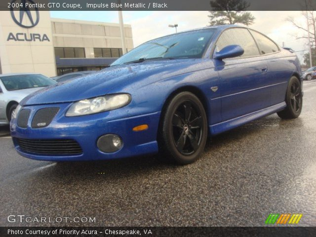 2004 Pontiac GTO Coupe in Impulse Blue Metallic