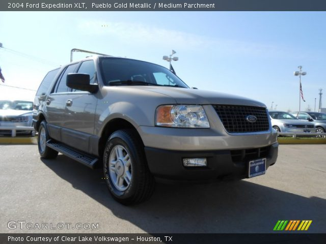 pueblo gold metallic 2004 ford expedition xlt medium. Black Bedroom Furniture Sets. Home Design Ideas