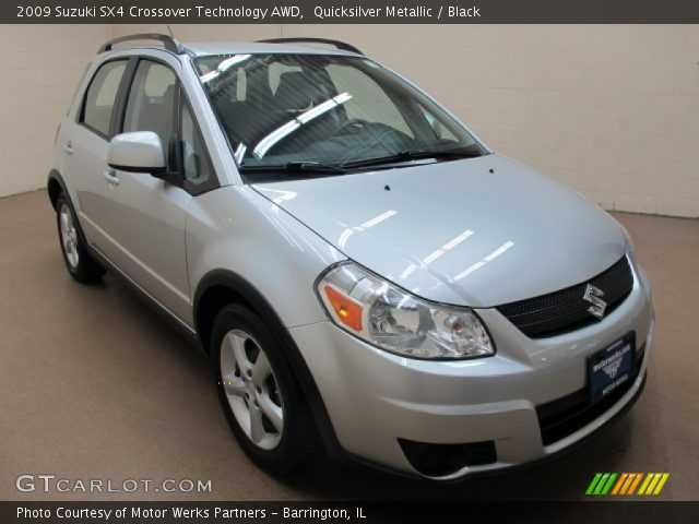 2009 Suzuki SX4 Crossover Technology AWD in Quicksilver Metallic