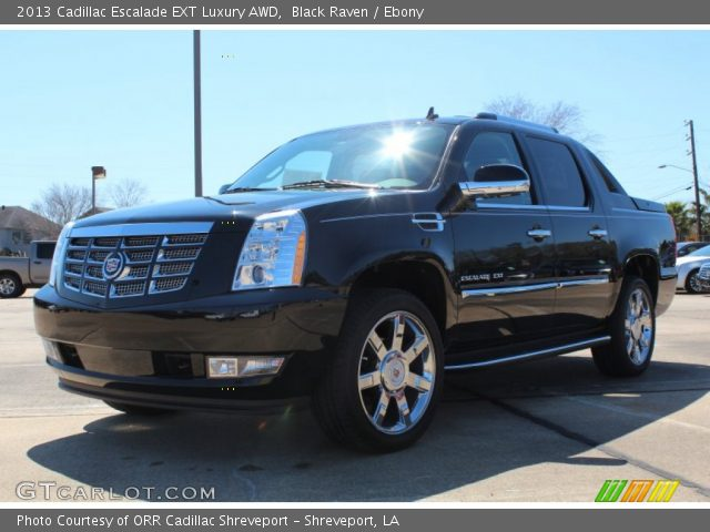 black raven 2013 cadillac escalade ext luxury awd. Black Bedroom Furniture Sets. Home Design Ideas