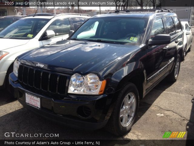 Black 2005 jeep grand cherokee laredo 4x4 medium slate - 2005 jeep grand cherokee laredo interior ...