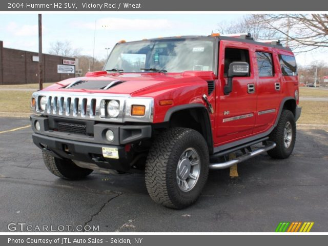 2004 Hummer H2 SUV in Victory Red