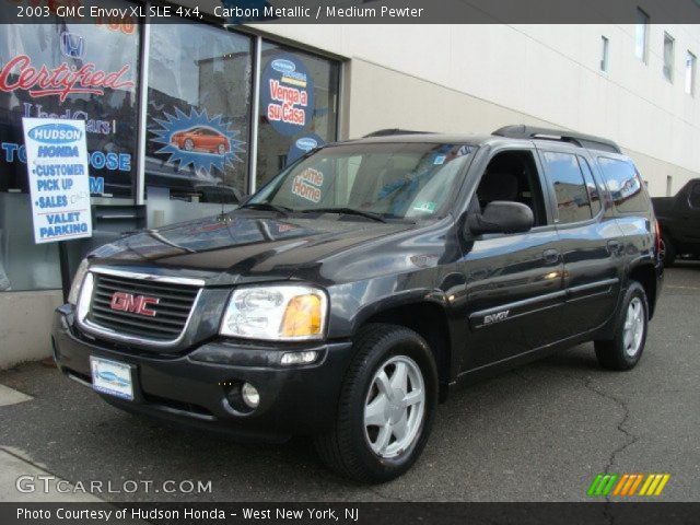 carbon metallic 2003 gmc envoy xl sle 4x4 medium. Black Bedroom Furniture Sets. Home Design Ideas