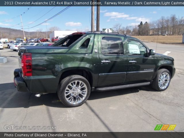 2013 chevrolet avalanche ltz fairway green metallica burns html autos weblog. Black Bedroom Furniture Sets. Home Design Ideas