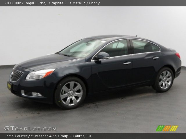 graphite blue metallic 2013 buick regal turbo ebony