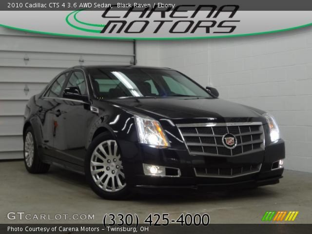 black raven 2010 cadillac cts 4 3 6 awd sedan ebony. Black Bedroom Furniture Sets. Home Design Ideas
