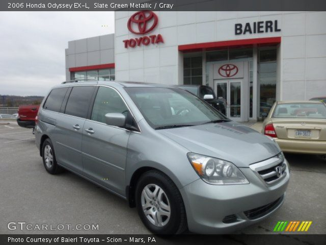 slate green metallic 2006 honda odyssey ex l gray. Black Bedroom Furniture Sets. Home Design Ideas