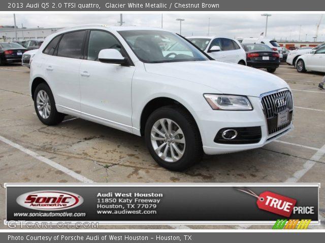 Glacier White Metallic - 2013 Audi Q5 2.0 TFSI quattro - Chestnut Brown Interior | GTCarLot.com ...
