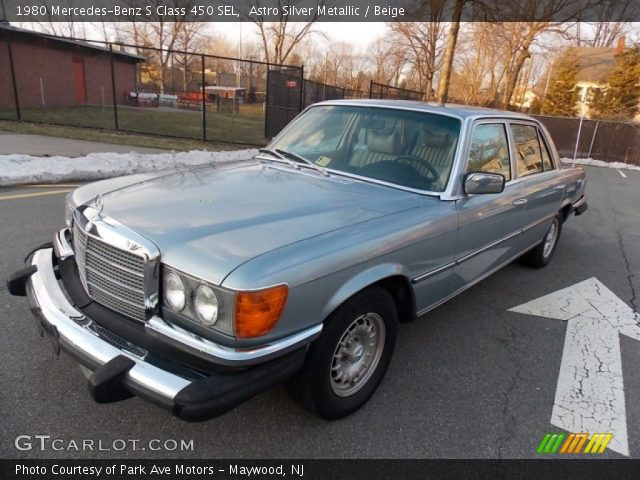1980 Mercedes-Benz S Class 450 SEL in Astro Silver Metallic