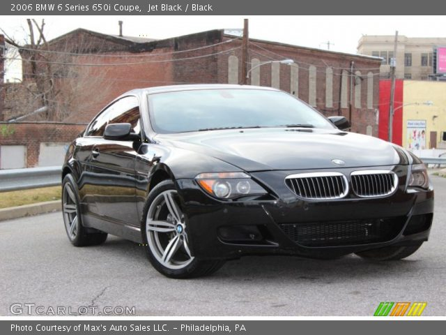 jet black 2006 bmw 6 series 650i coupe black interior vehicle archive 78698775. Black Bedroom Furniture Sets. Home Design Ideas