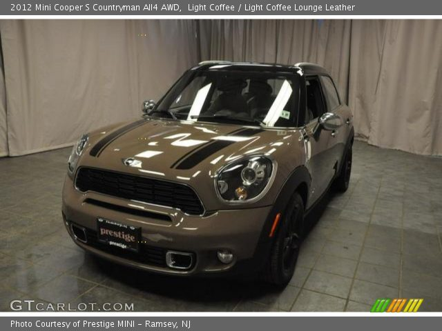 light coffee 2012 mini cooper s countryman all4 awd light coffee lounge leather interior. Black Bedroom Furniture Sets. Home Design Ideas