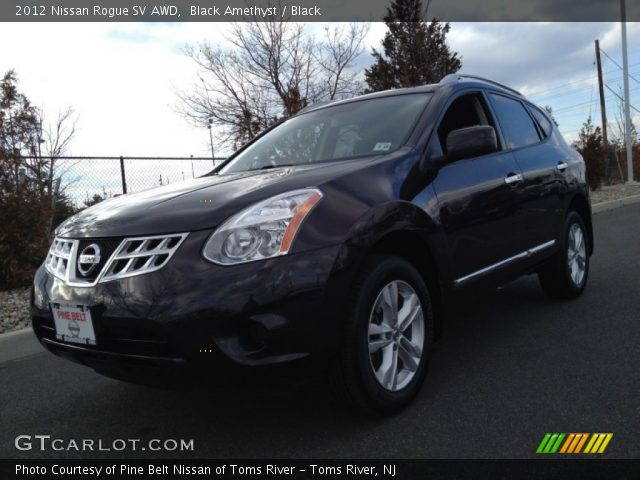 Black amethyst 2012 nissan rogue sv awd black interior - 2012 nissan rogue exterior colors ...