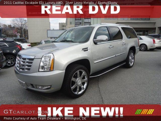 2011 Cadillac Escalade ESV Luxury AWD in Silver Lining Metallic