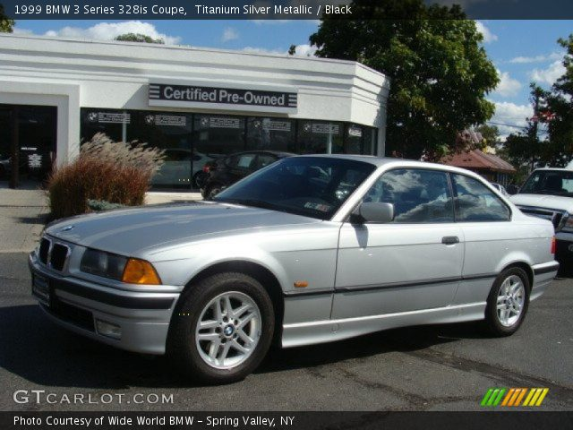 titanium silver metallic 1999 bmw 3 series 328is coupe. Black Bedroom Furniture Sets. Home Design Ideas