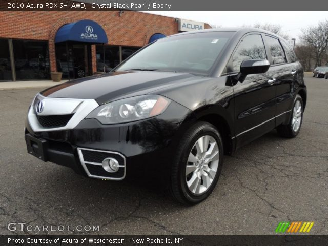 2010 acura rdx sh awd in crystal black pearl click to see large photo. Black Bedroom Furniture Sets. Home Design Ideas