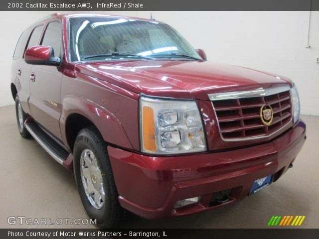 Infrared 2002 Cadillac Escalade Awd Shale Interior Vehicle Archive 78824553