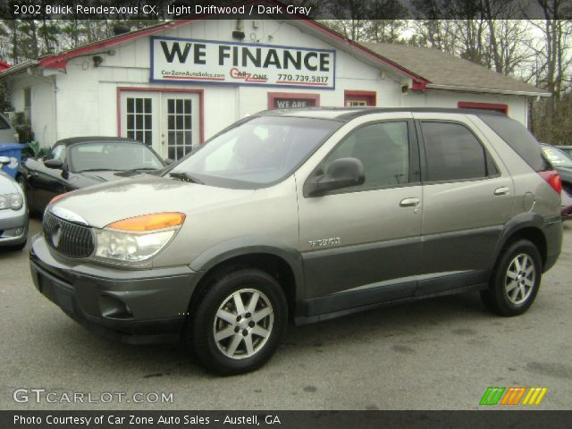 2002 Buick Rendezvous CX in Light Driftwood