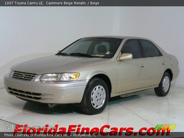 1997 Toyota Camry LE in Cashmere Beige Metallic