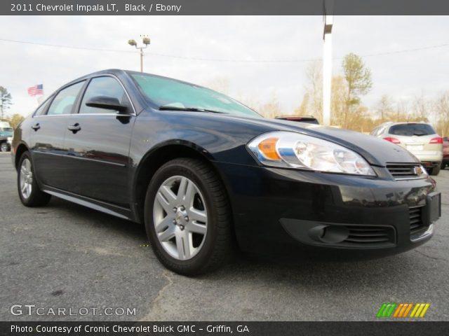 Black 2011 Chevrolet Impala Lt Ebony Interior Vehicle Archive 78880177