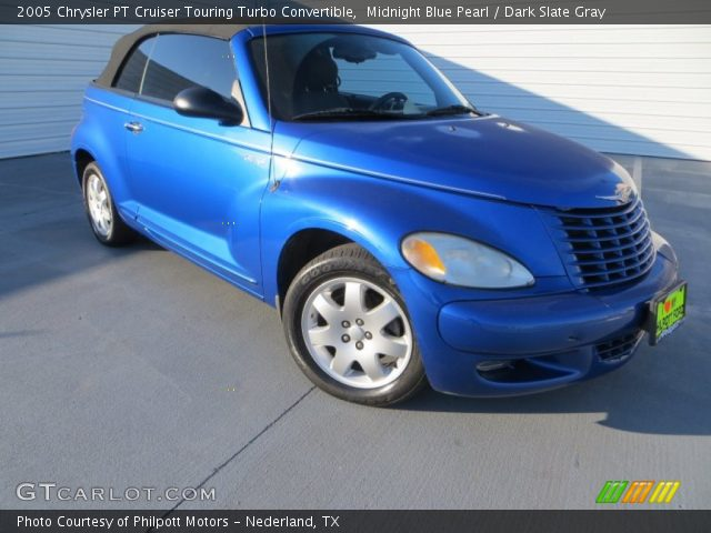 midnight blue pearl 2005 chrysler pt cruiser touring. Black Bedroom Furniture Sets. Home Design Ideas