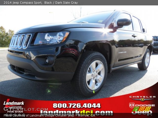 black 2014 jeep compass sport dark slate gray interior. Black Bedroom Furniture Sets. Home Design Ideas