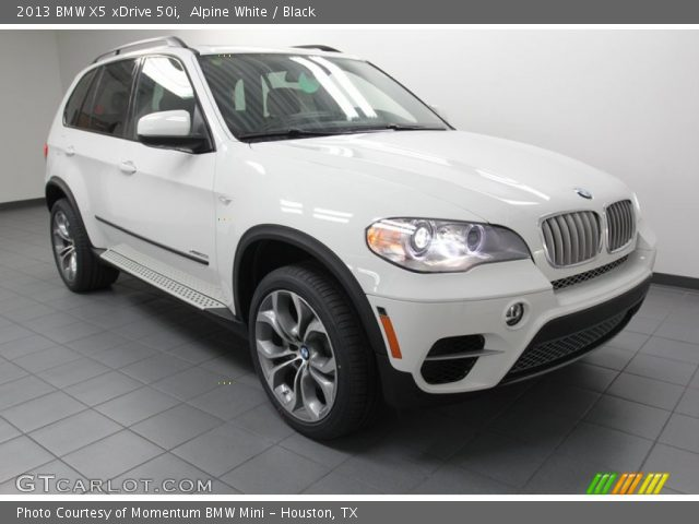 alpine white 2013 bmw x5 xdrive 50i black interior vehicle archive 78996713. Black Bedroom Furniture Sets. Home Design Ideas