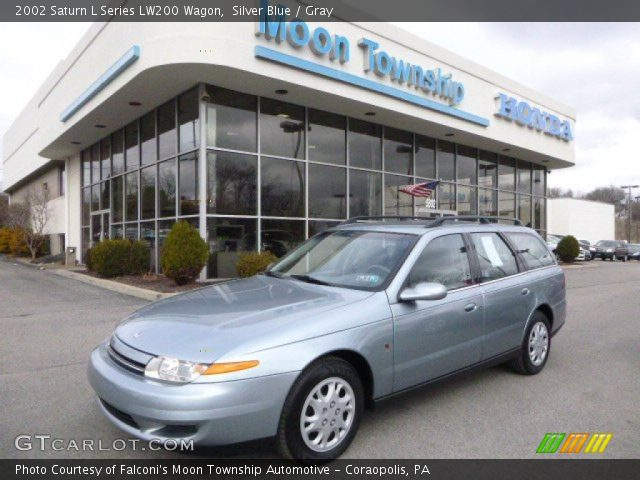 silver blue 2002 saturn l series lw200 wagon gray interior vehicle archive. Black Bedroom Furniture Sets. Home Design Ideas