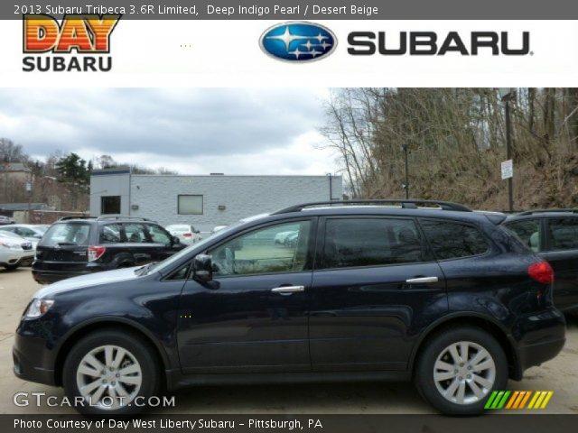 2013 Subaru Tribeca 3.6R Limited in Deep Indigo Pearl