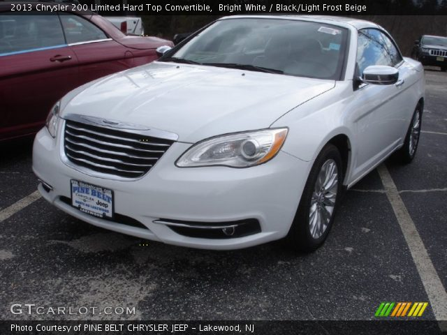 bright white 2013 chrysler 200 limited hard top. Black Bedroom Furniture Sets. Home Design Ideas