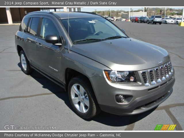 mineral gray metallic 2014 jeep compass sport dark. Black Bedroom Furniture Sets. Home Design Ideas