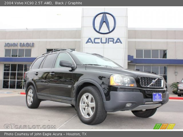 black 2004 volvo xc90 2 5t awd graphite interior vehicle archive 79263177. Black Bedroom Furniture Sets. Home Design Ideas