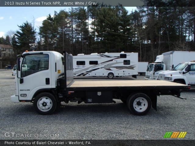 2013 Isuzu N Series Truck NPR in Arctic White