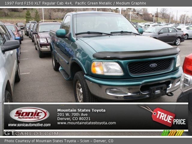 1997 Ford F150 XLT Regular Cab 4x4 in Pacific Green Metallic
