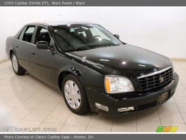 Black Raven 2004 Cadillac Deville Dts Black Interior Vehicle Archive 79263766